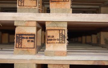 Todopalets. Nuevas instalaciones de secado y sello a fuego de certificado